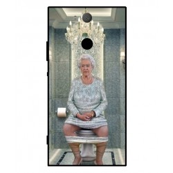 Sony Xperia XA2 Her Majesty Queen Elizabeth On The Toilet Cover