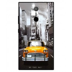 Sony Xperia L2 New York Taxi Cover