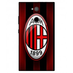 Sony Xperia L2 AC Milan Cover