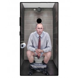 Sony Xperia L2 Vladimir Putin On The Toilet Cover