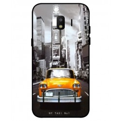 Coque New York Taxi Pour Samsung Galaxy J2 Pro 2018