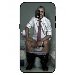Samsung Galaxy J2 Pro 2018 Obama On The Toilet Cover