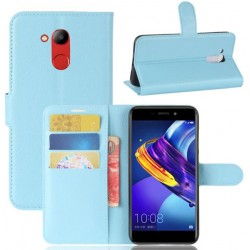 Protection Etui Portefeuille Cuir Bleu Huawei Honor V9 Play