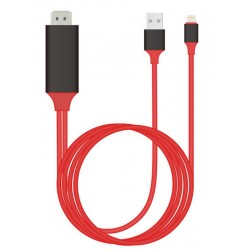 MHL To Male HDMI Cable For iPhone 5