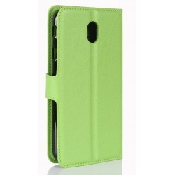 Samsung Galaxy J7 Pro Green Wallet Case