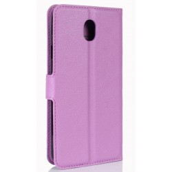 Samsung Galaxy J7 Pro Purple Wallet Case
