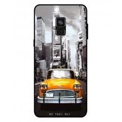 Samsung Galaxy A8 2018 New York Taxi Cover