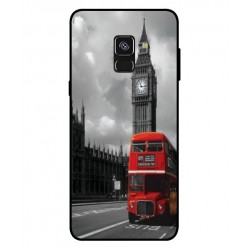 Samsung Galaxy A8 2018 London Style Cover