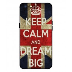 Oppo A71 2018 Keep Calm And Dream Big Cover