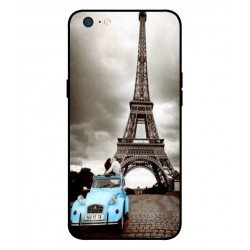 Oppo A71 2018 Vintage Eiffel Tower Case