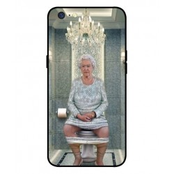 Oppo A71 2018 Her Majesty Queen Elizabeth On The Toilet Cover