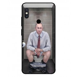 Xiaomi Redmi Note 5 Pro Vladimir Putin On The Toilet Cover