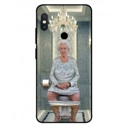 Xiaomi Redmi Note 5 Pro Her Majesty Queen Elizabeth On The Toilet Cover