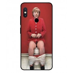 Xiaomi Redmi Note 5 Pro Angela Merkel On The Toilet Cover