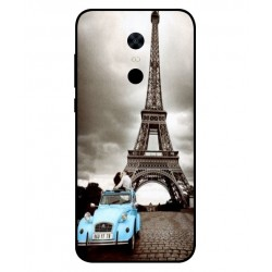 Xiaomi Redmi Note 5 Vintage Eiffel Tower Case