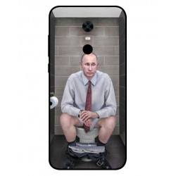 Xiaomi Redmi Note 5 Vladimir Putin On The Toilet Cover