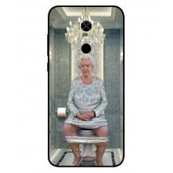 Xiaomi Redmi Note 5 Her Majesty Queen Elizabeth On The Toilet Cover
