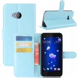 HTC U Play Blue Wallet Case