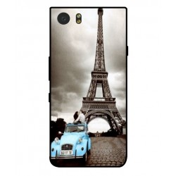 Coque Tour Eiffel Vintage Pour Blackberry KeyOne