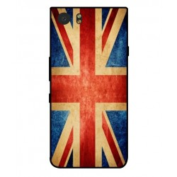 Funda Vintage UK Para Blackberry KeyOne