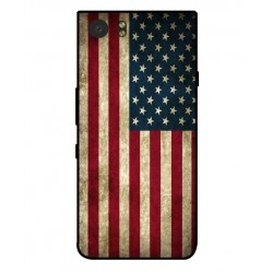 Funda Vintage America Para Blackberry KeyOne