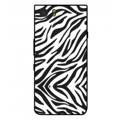Blackberry KeyOne Zebra Case