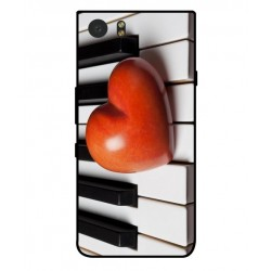 Funda I Love Piano Para Blackberry KeyOne