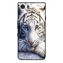 Coque Protection Tigre Blanc Pour Blackberry KeyOne