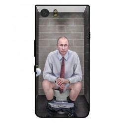 Blackberry KeyOne Vladimir Putin On The Toilet Cover