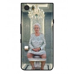 Blackberry KeyOne Her Majesty Queen Elizabeth On The Toilet Cover