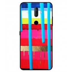 Alcatel 3v Brushstrokes Cover