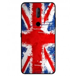 Alcatel 3v UK Brush Cover