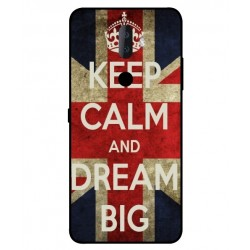 Coque Keep Calm And Dream Big Pour Alcatel 3v