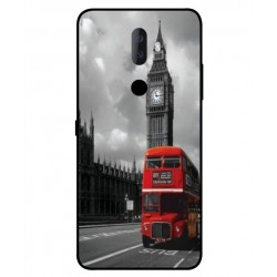 Alcatel 3v London Style Cover
