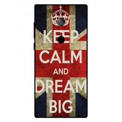 Coque Keep Calm And Dream Big Pour Alcatel 5