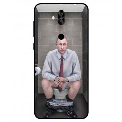 Asus Zenfone 5 Lite ZC600KL Vladimir Putin On The Toilet Cover