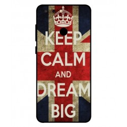 Coque Keep Calm And Dream Big Pour ZTE Blade V9 Vita