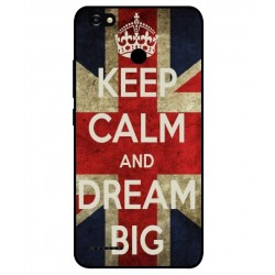 Coque Keep Calm And Dream Big Pour ZTE Blade A3