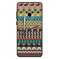 ZTE Blade V9 Mexican Embroidery With Clock Cover