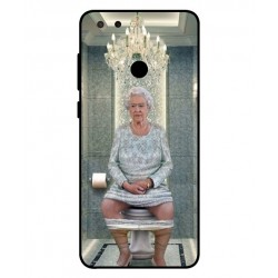 ZTE Blade V9 Her Majesty Queen Elizabeth On The Toilet Cover