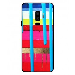 Samsung Galaxy S9 Plus Brushstrokes Cover