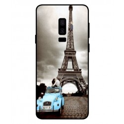 Samsung Galaxy S9 Plus Vintage Eiffel Tower Case