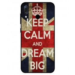 Coque Keep Calm And Dream Big Pour Asus Zenfone Max M1 ZB555KL