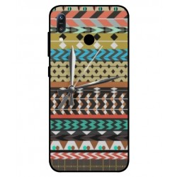 Asus Zenfone Max M1 ZB555KL Mexican Embroidery With Clock Cover