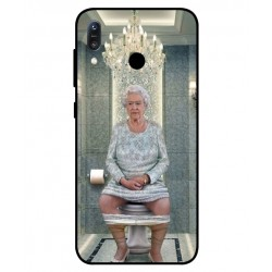 Asus Zenfone Max M1 ZB555KL Her Majesty Queen Elizabeth On The Toilet Cover