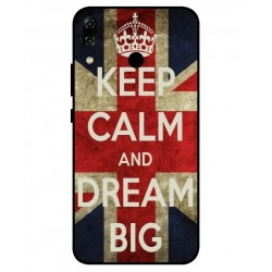 Asus Zenfone 5z ZS620KL Keep Calm And Dream Big Cover