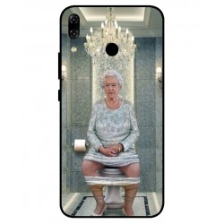 Asus Zenfone 5z ZS620KL Her Majesty Queen Elizabeth On The Toilet Cover