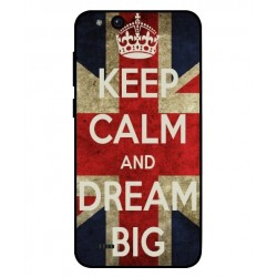 ZTE Tempo Go Keep Calm And Dream Big Cover