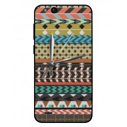 ZTE Tempo Go Mexican Embroidery With Clock Cover