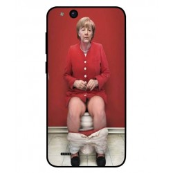 ZTE Tempo Go Angela Merkel On The Toilet Cover